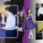 Custom album design Bat MItzvah Party at Marriott Resort Lincolnshire