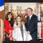 Custom design page for Bat mItzvah album chicago and North shore suburbs