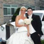 Wedding couple at St Andrews Greek Orthodox Church