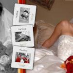 Wedding album page layout, custom