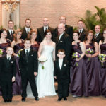 Wedding Party photograhy at the church