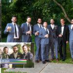 Album design layout Lake Geneva wedding