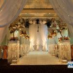 Northbrook wedding reception, room shot
