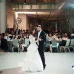 First Dance at spertus wedding chicago