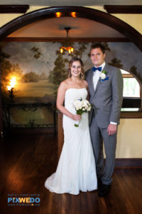 Bride and Groom inside The Grove, Glenview