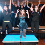BJBE Bat Mitzvah Party group shot with entertainment team