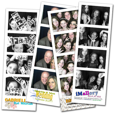 photobooth rentals north shore suburbs chicago meto, photostrips traditional