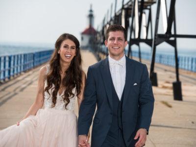 Austin and Brian. St. Joseph wedding. Shadowland Pavilion Ceremony.