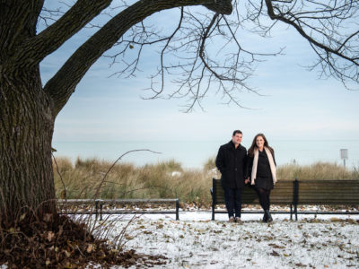 Gilson Park Engagement photography. Wilmette photography. Lauren and Josh